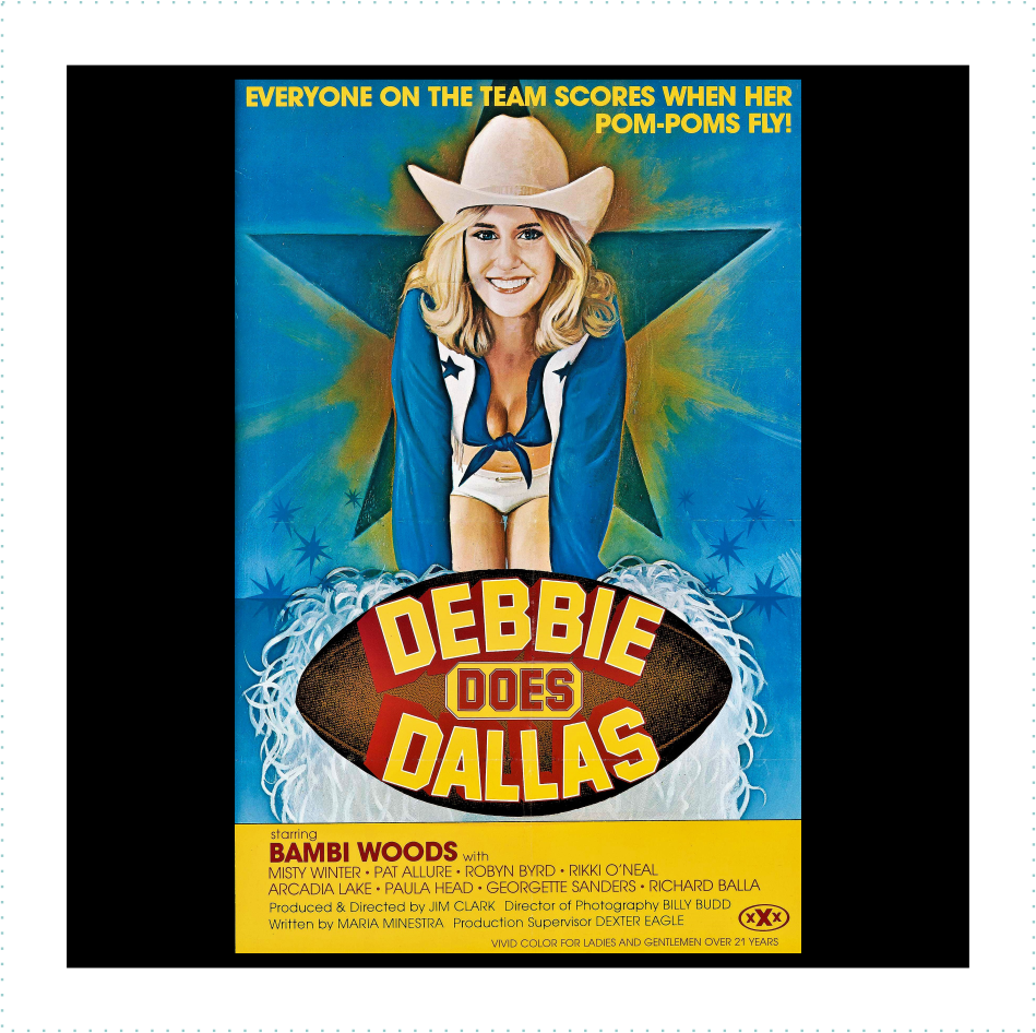 Debbie Does Dallas Logo