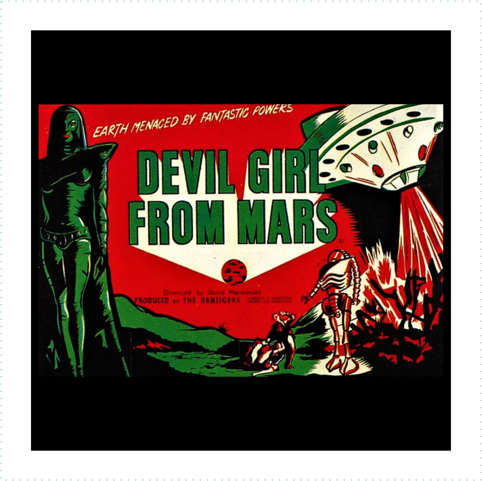 Devil Girl From Mars Logo
