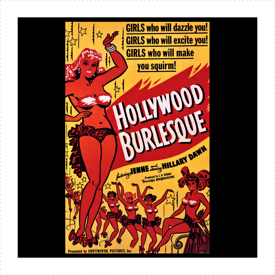 Hollywood Burlesque Logo