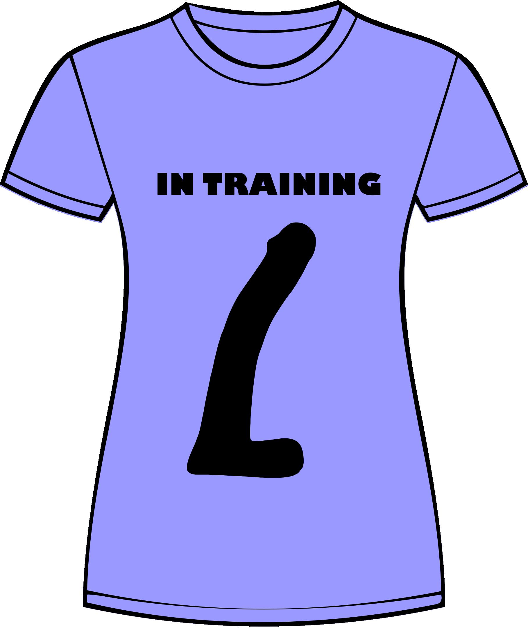 In Training Tshirt